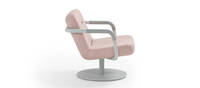 Chroma Lounge, Swivel - Light Gray Texture