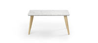 Prose Free-Standing Coffee Table - Quartz Top