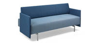 Tenet Daybed - Silver Metallic Gloss
