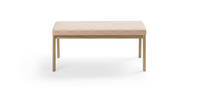 Prose bench ash pink orange front product banner