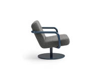Chroma Lounge, Swivel - Navy Blue Matte