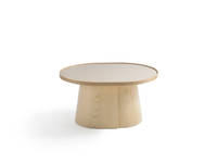 Penna Obround Table - Clear over Ash