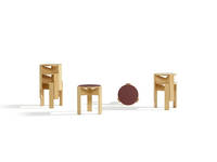 Kino Stool - Ash Ensemble, on white