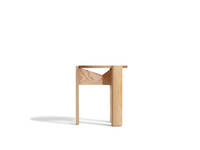 Kino Stool - Clear over Ash
