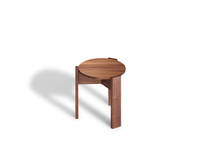 Kino Stool - Forbo Top, Walnut