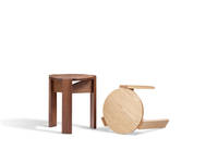 Kino Stool - Ash and Walnut