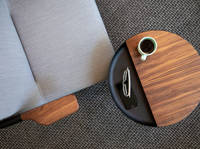 Chroma Lounge & Chord Personal Table - Café